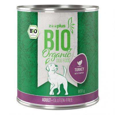zooplus Bio krůtí s dýní cuketou 6 x 400 g