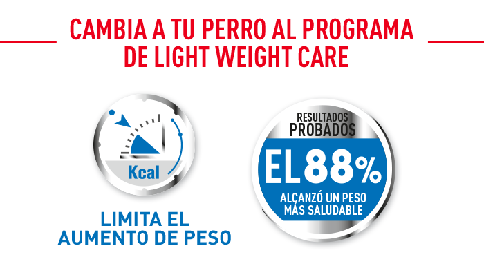 combinar royal canin light weight care mini
