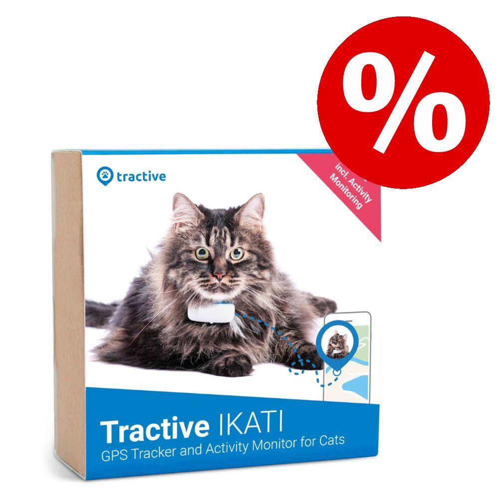 Tractive GPS- und Aktivitätstracker für Katzen zum Sonderpreis! - weiß