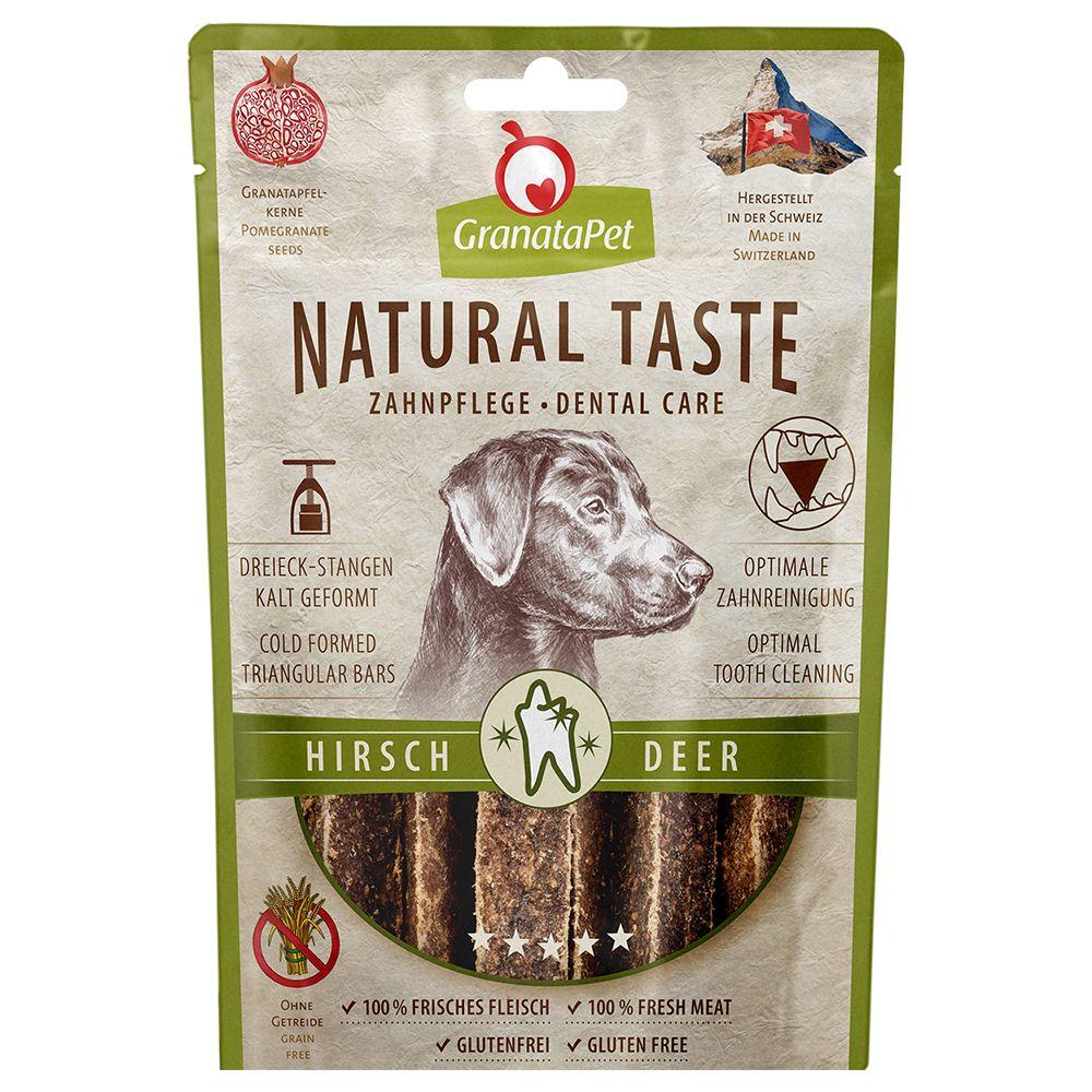 GranataPet Natural Taste Dentrix – Hjort 70 g