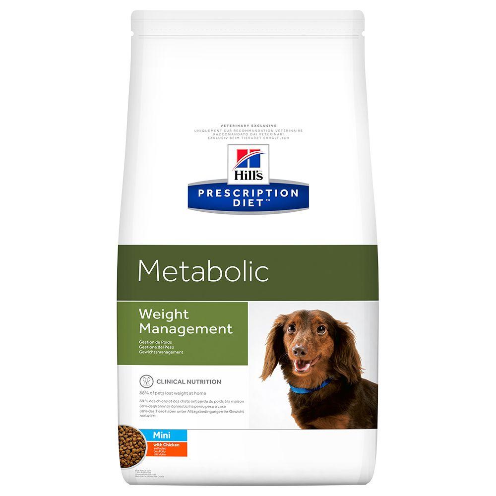 Hill's Prescription Diet Canine Metabolic Mini – Ekonomipack: 2 x 6 kg
