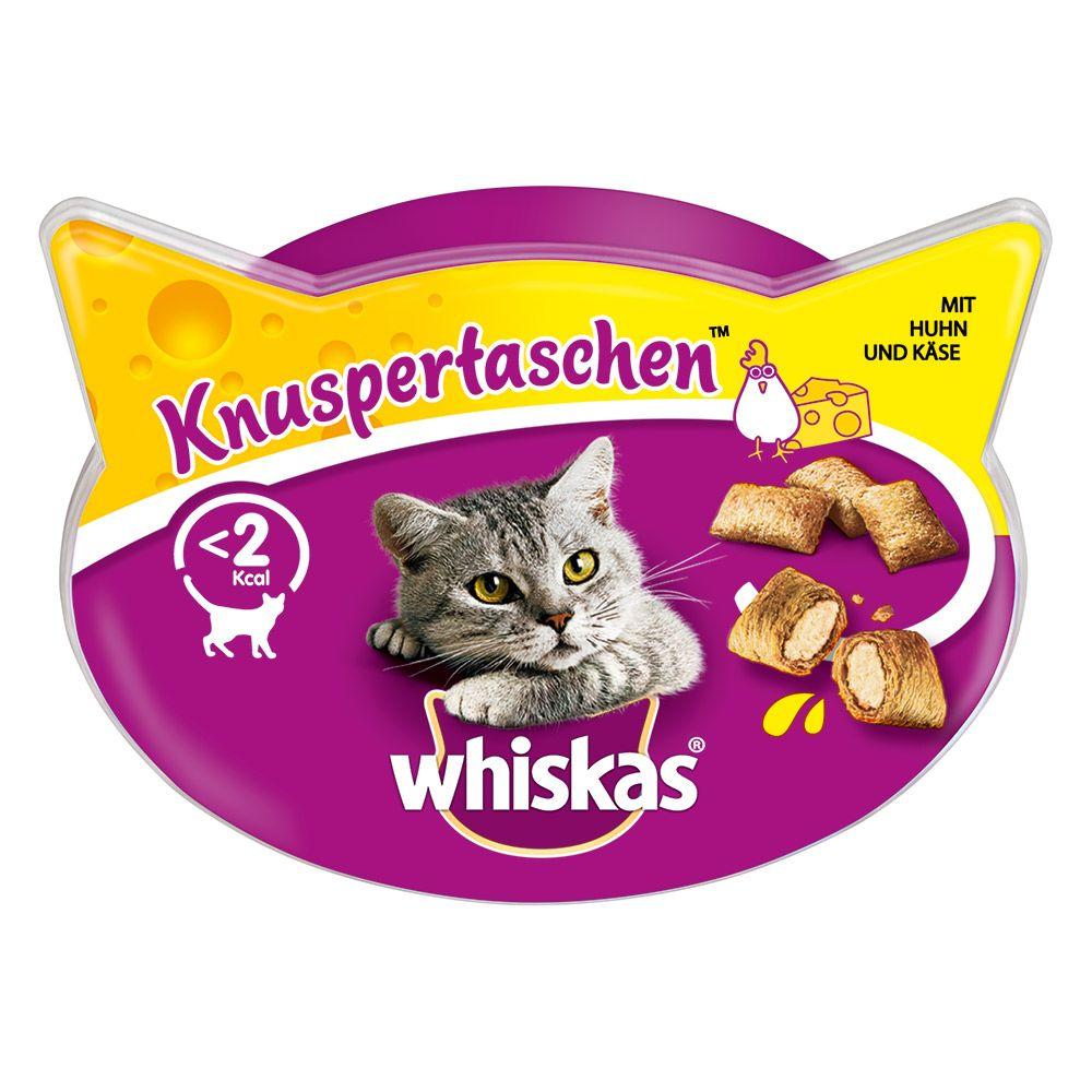 Whiskas Knuspertaschen - Lachs (8 x 60 g)