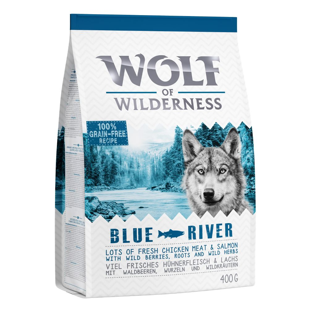 Salmon Blue River Adult Wolf of Wilderness Dry Dog Food