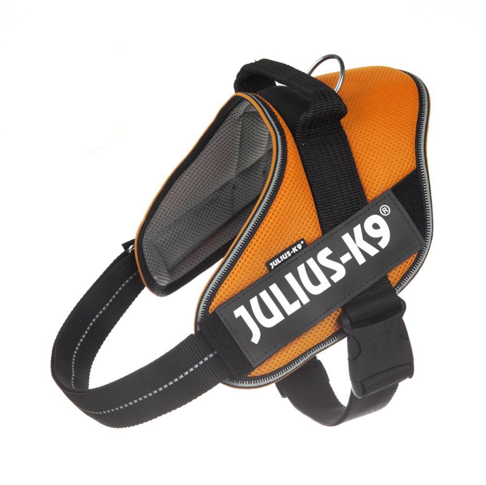 JULIUS-K9 IDC® POWAIR Geschirr - orange - Größe Mini: Brustumfang 49 - 67 cm