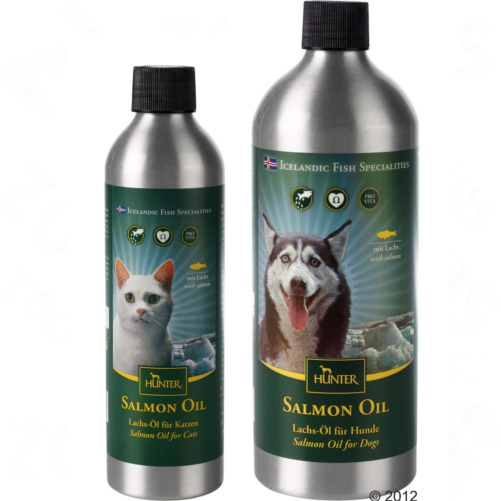 Foto Hunter olio di salmone - 2 x 500 ml - prezzo top!