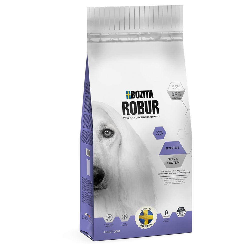 Bozita Robur Sensitive Single Protein Lamm & ris - Ekonomipack: 2 x 15 kg