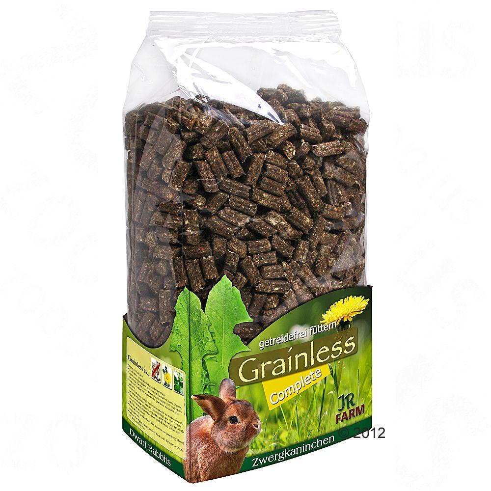JR Farm Grainless Complete pokarm dla królików miniaturowych - 1,35 kg