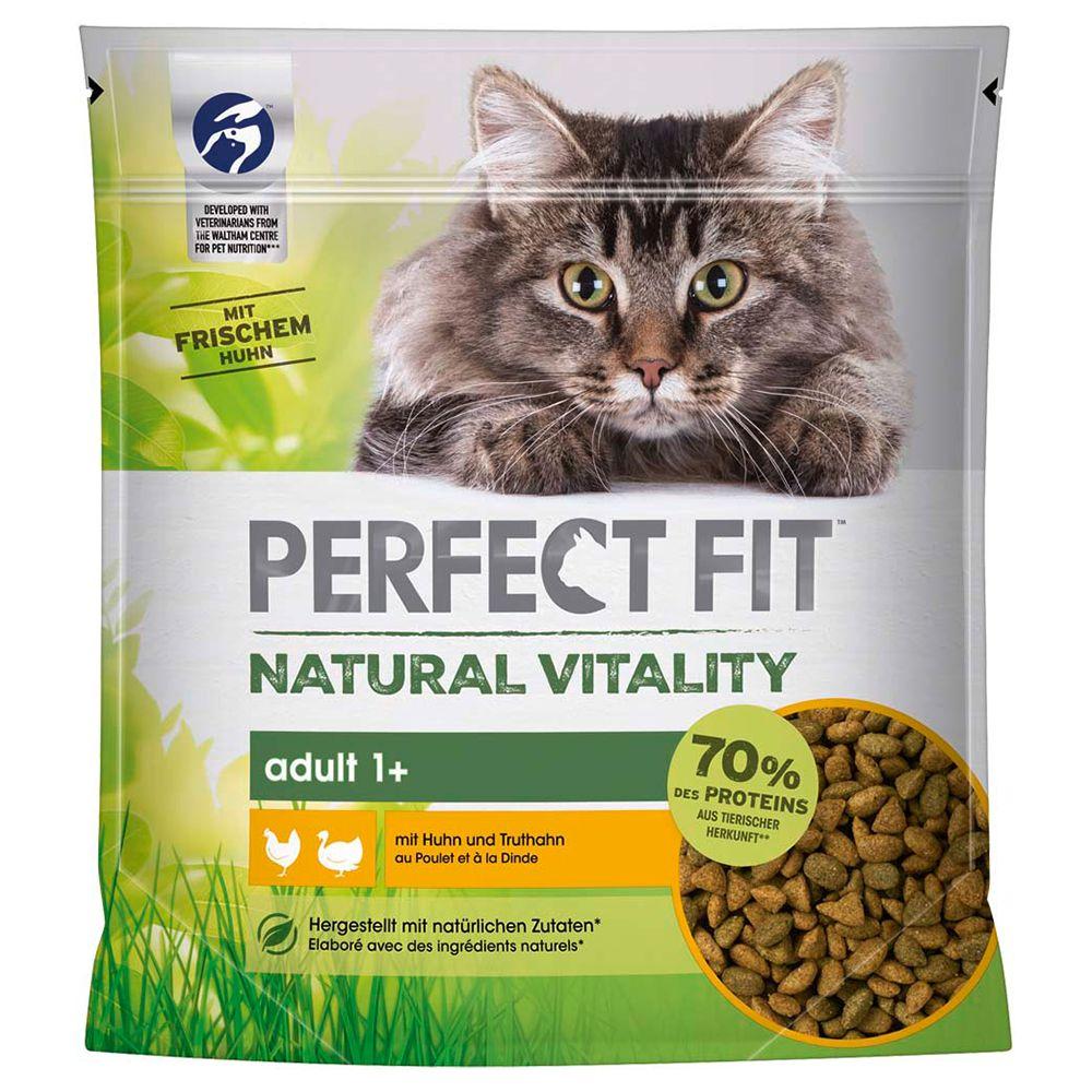 Perfect Fit Natural Vitality Adult 1+ Kyckling & kalkon - 650 g