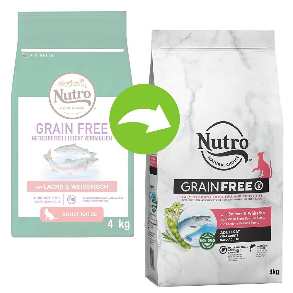 Nutro Grain Free Adult Salmon & White Fish - 4 kg