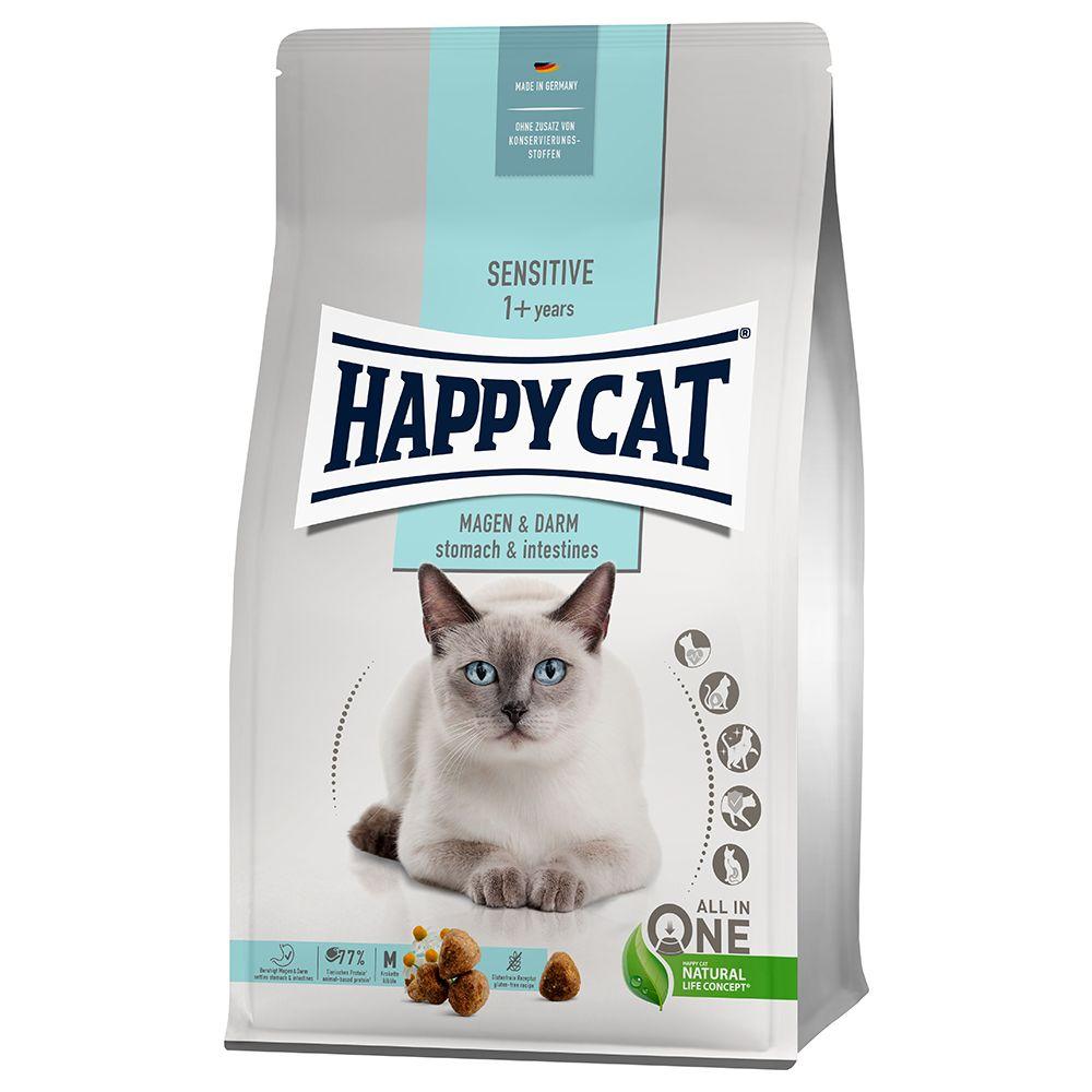 Happy Cat Sensitive Stomach & Intestines - Ekonomipack: 2 x 1,3 kg