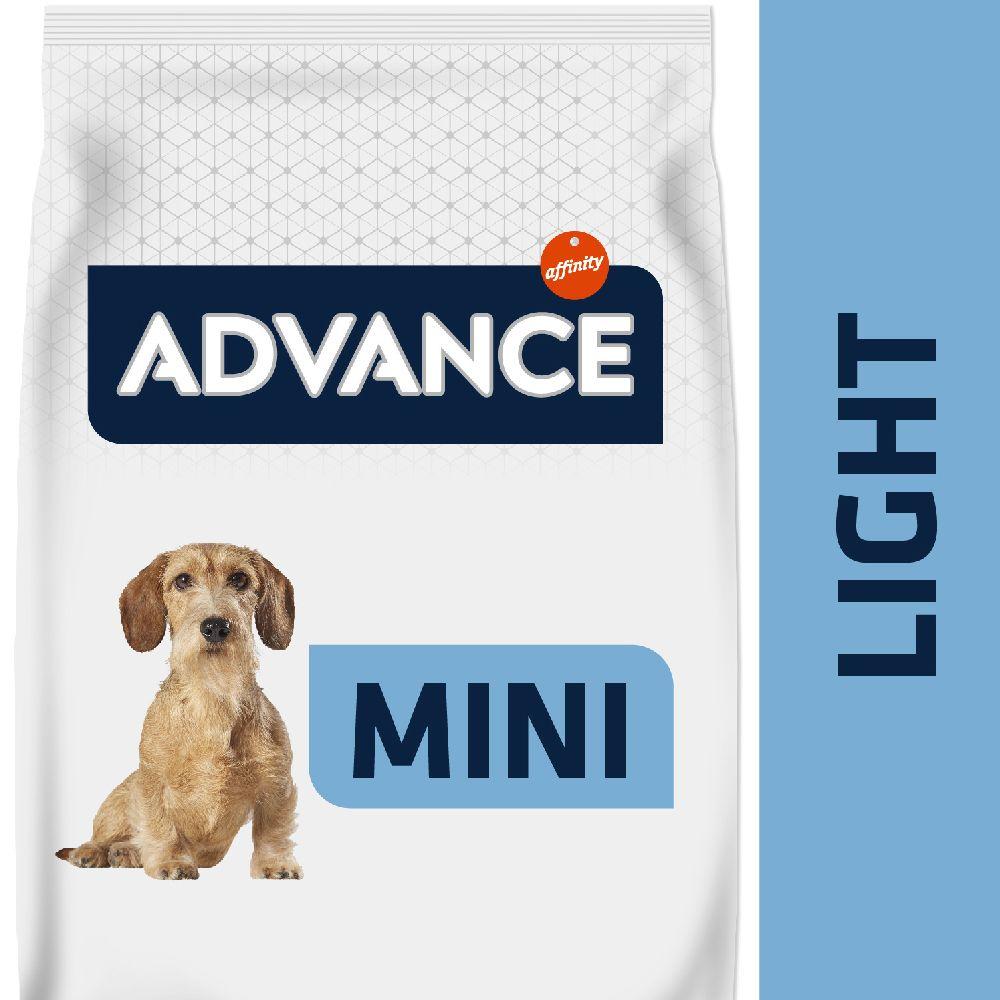 2x7,5kg Advance Mini Light - Croquettes pour chien