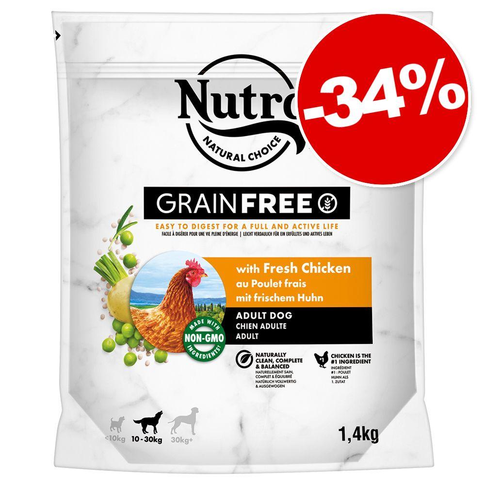 Croquettes Nutro 2 x 1,4 kg : 34 % de remise ! - Wild Frontier Adult dinde, poulet
