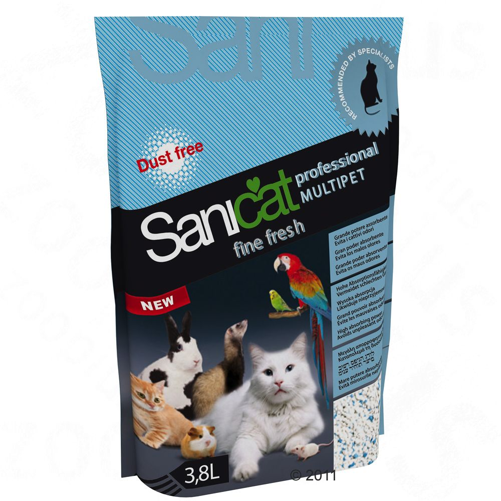 3,8 l Sanicat Professional Fine Fresh Katzenstreu