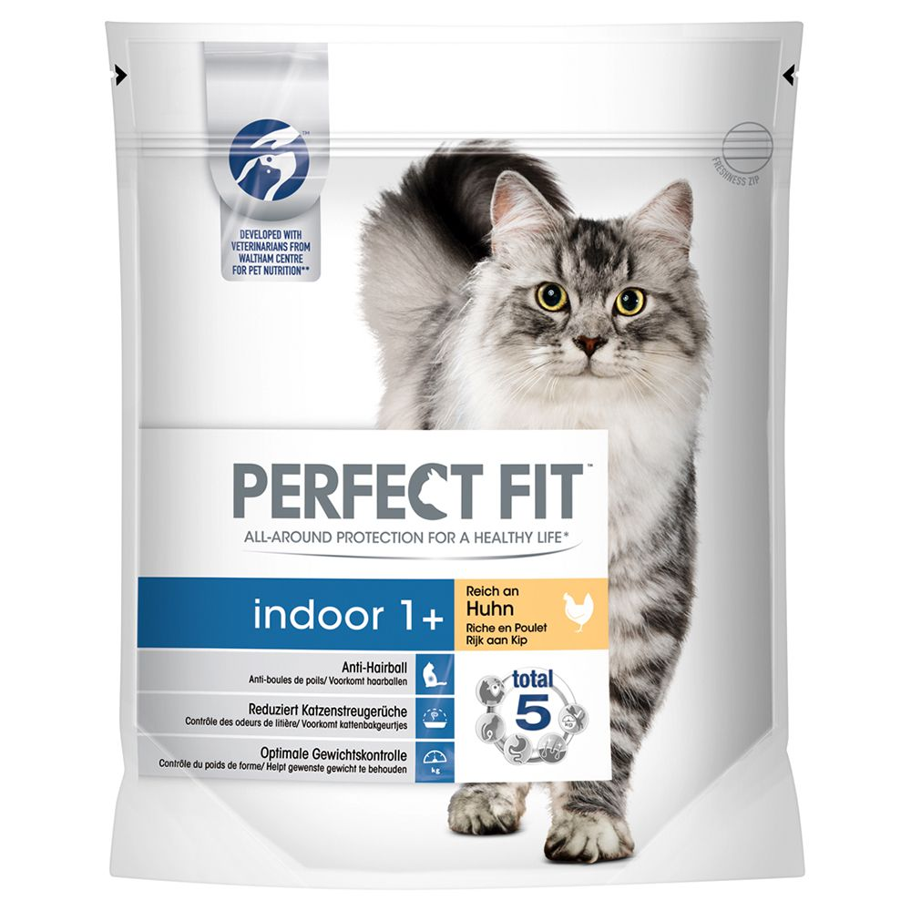 Perfect Fit Indoor 1+ Rich in Chicken - Economy Pack: 3 x 1.4kg