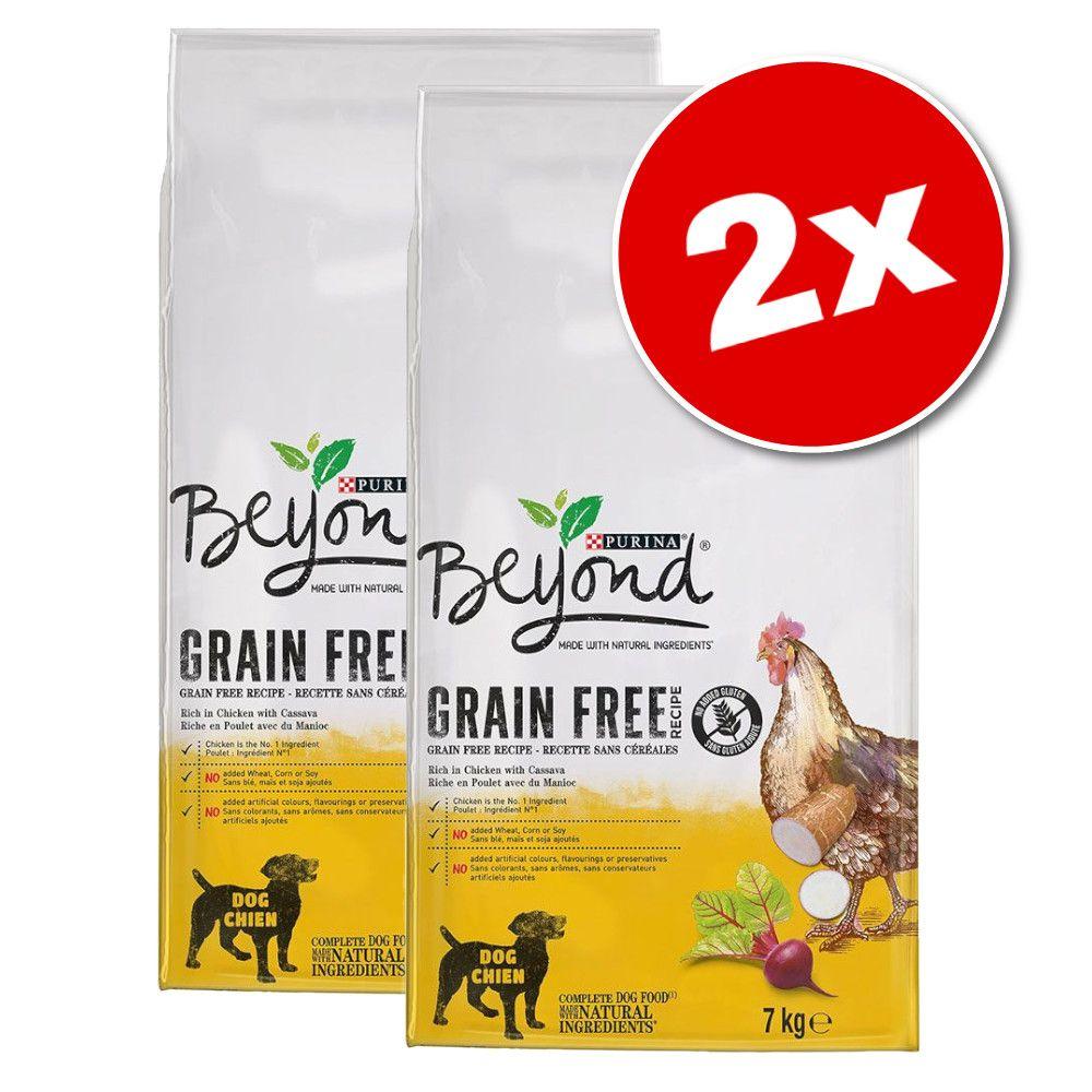 2x7kg Beyond Sans céréales poulet - Croquettes pour chien