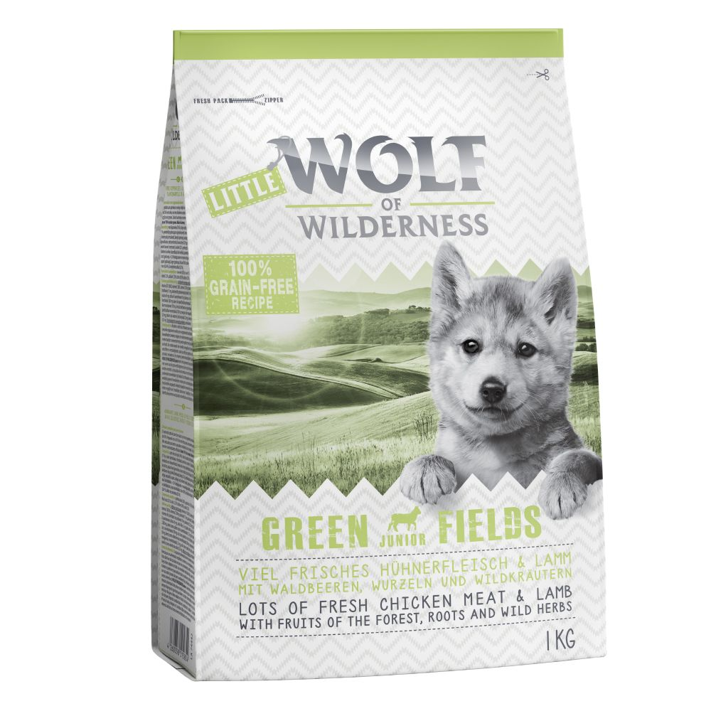 Junior Mixed Wolf of Wilderness Dry Dog Food
