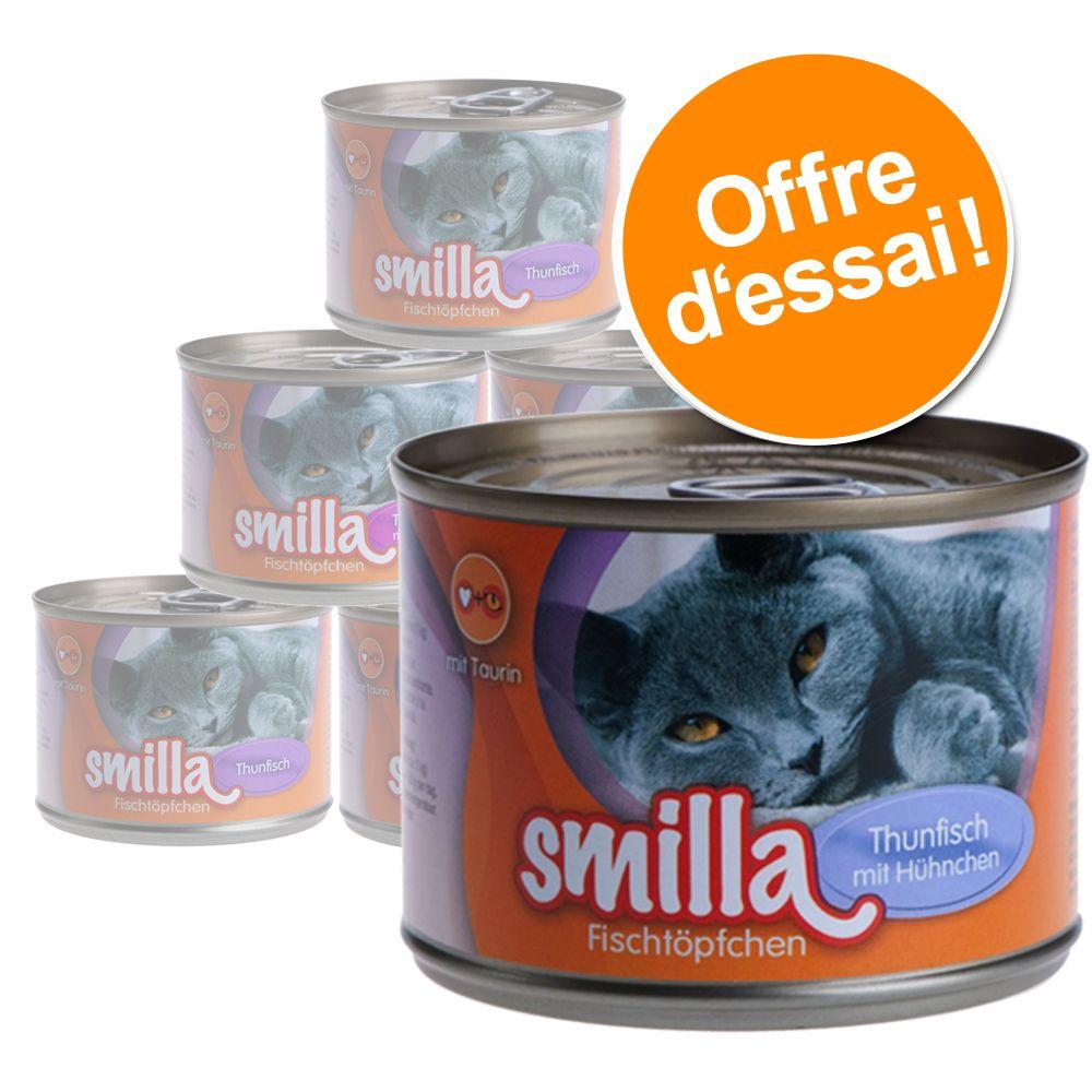 Chat Boîtes et sachets ★ Smilla Offres d´essai Smilla pour chat