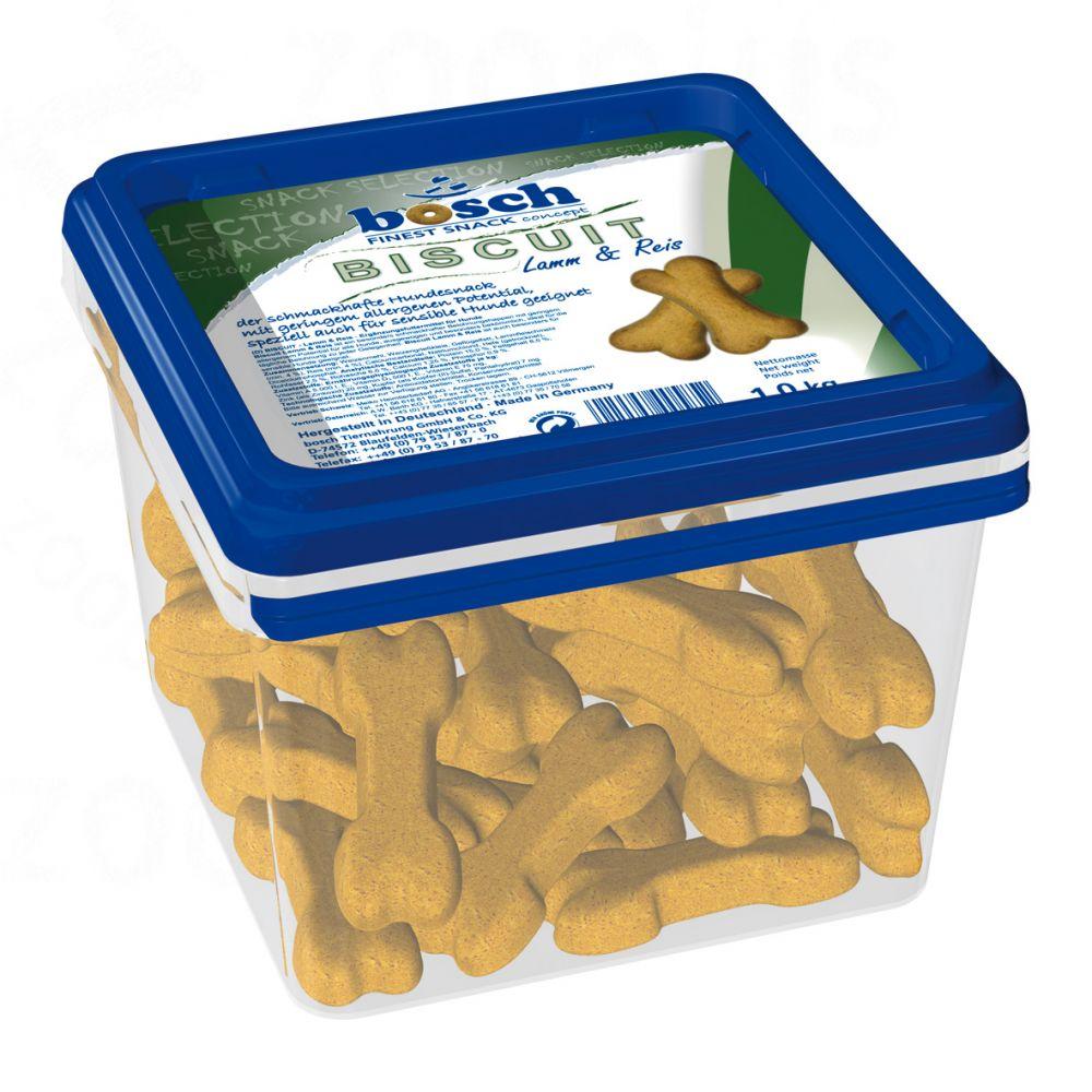 Bosch Biscuit Jagnięcina & Ryż, ciasteczka dla psa - 5 kg