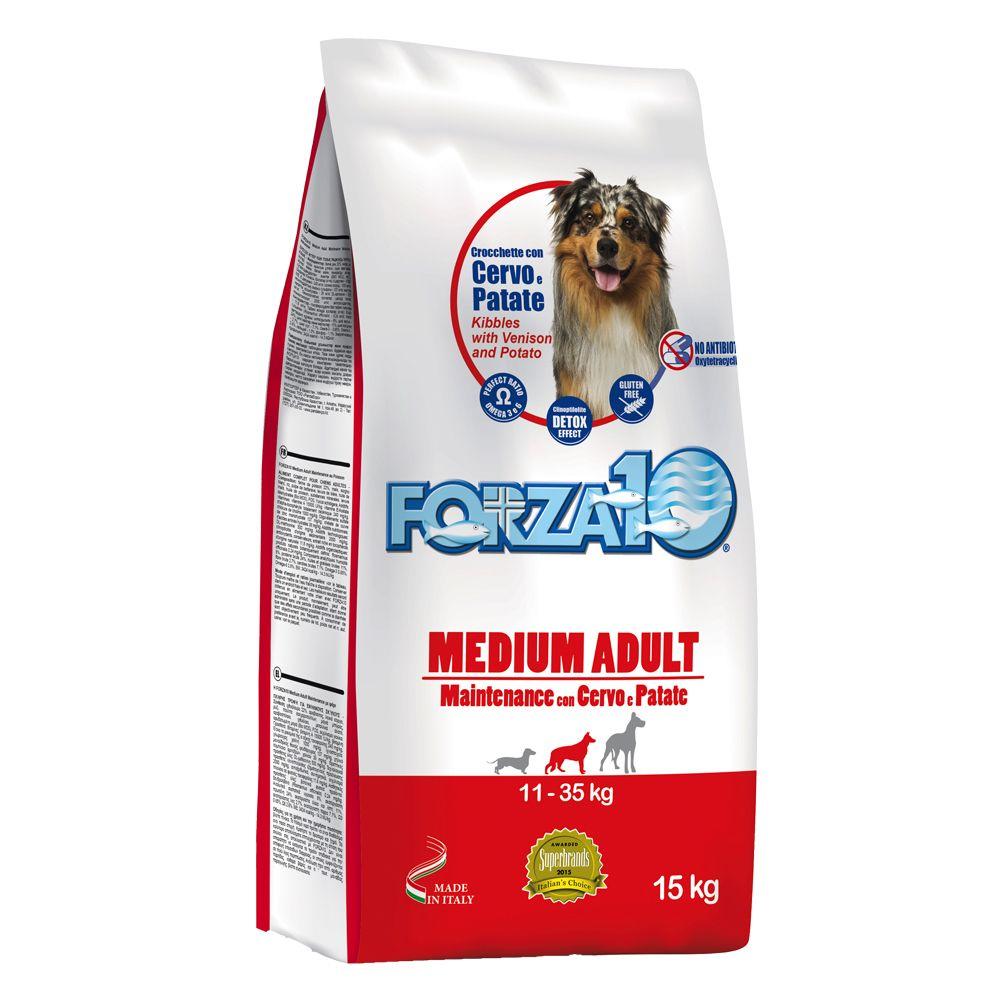 Forza 10 Medium Maintenance with Venison & Potato - Economy Pack: 2 x 15kg