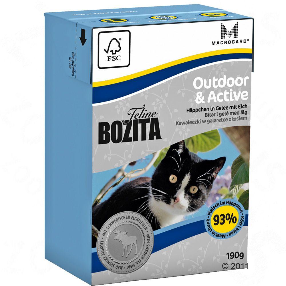 Bozita Bouchées en gelée 6 x 190 g pour chat - Diet & Stomach Sensitive