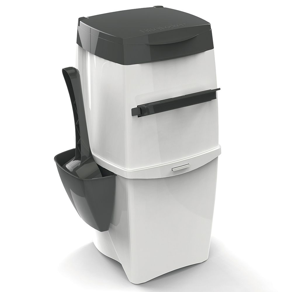 LitterLocker II Cat Litter Bin - 44 x 20 x 25 cm (L x W x H) inc. cartridge