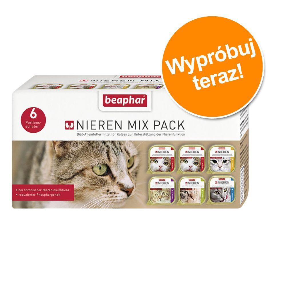 Mieszany pakiet próbny Beaphar Dieta na nerki - 6 x 100 g