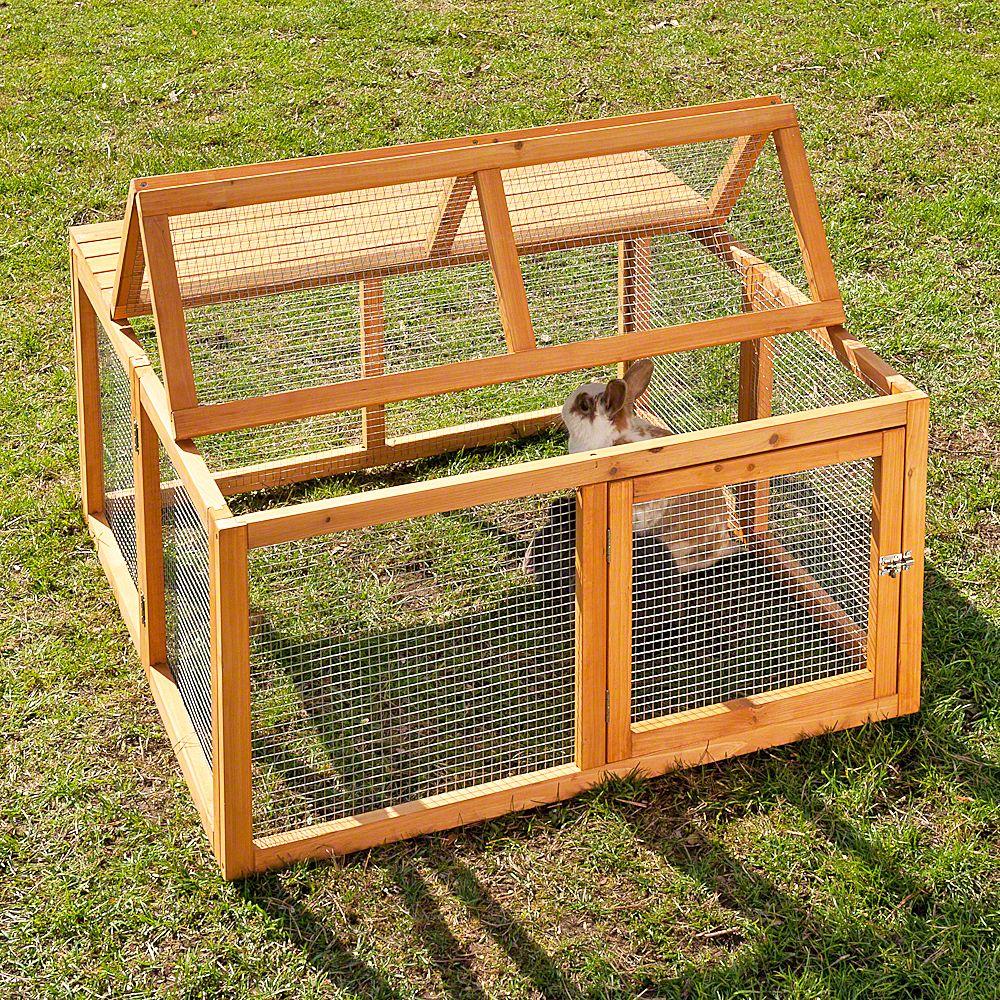 Enclos lapin bois for Enclos exterieur pour lapin