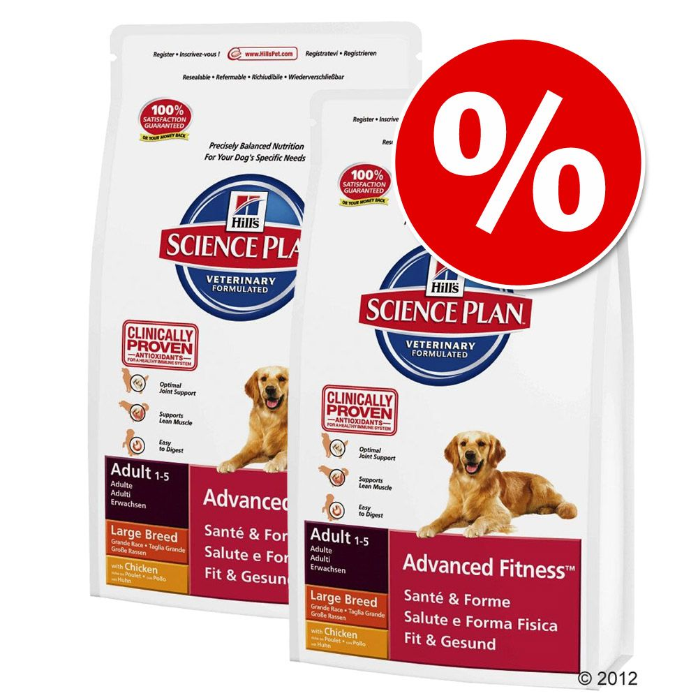 hill-canine-gazdasagos-csomag-adult-advanced-fitness-tonhal-rizs-2-x-12-kg