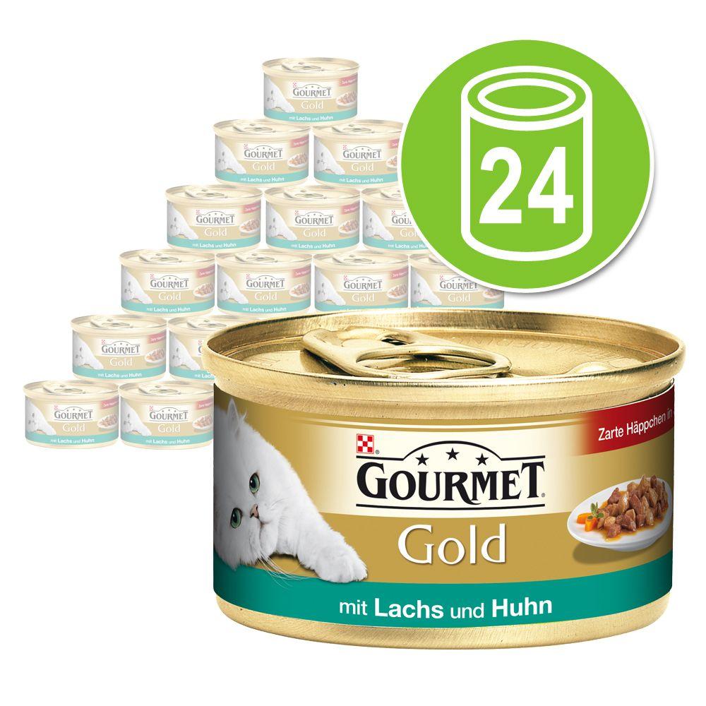 Chat Boîtes et sachets Gourmet Gold Gourmet Gold Les Noisettes