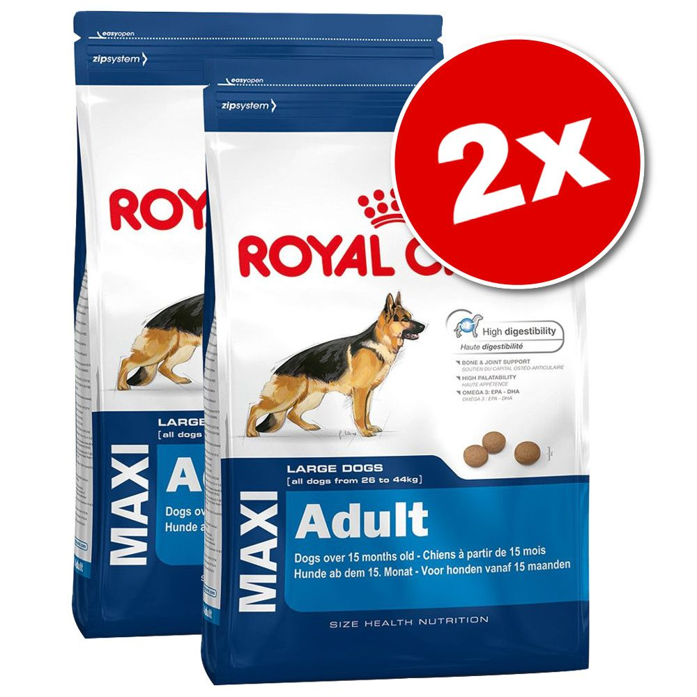 Lot Royal Canin Size grand format x 2 pour chien - Maxi Digestive Care (2 x 15 kg)