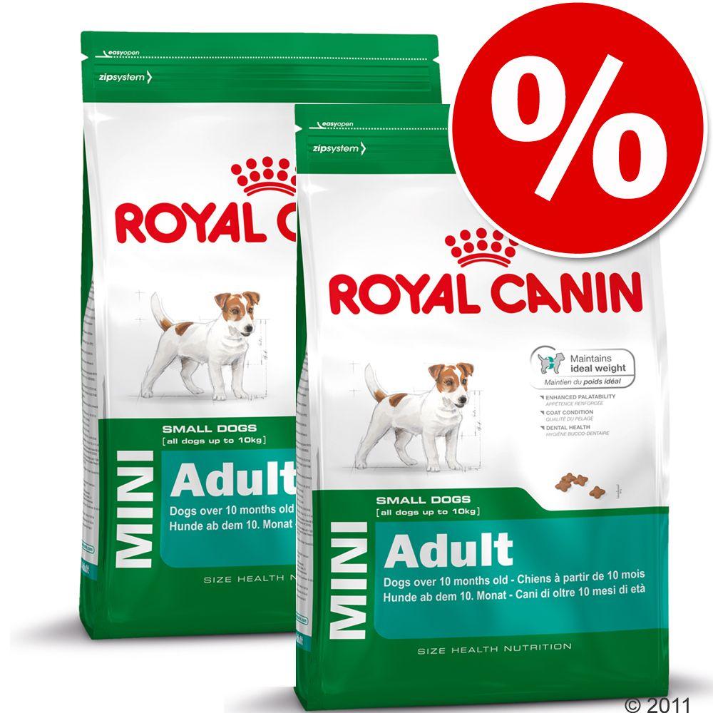 Dwupak Royal Canin Mini -