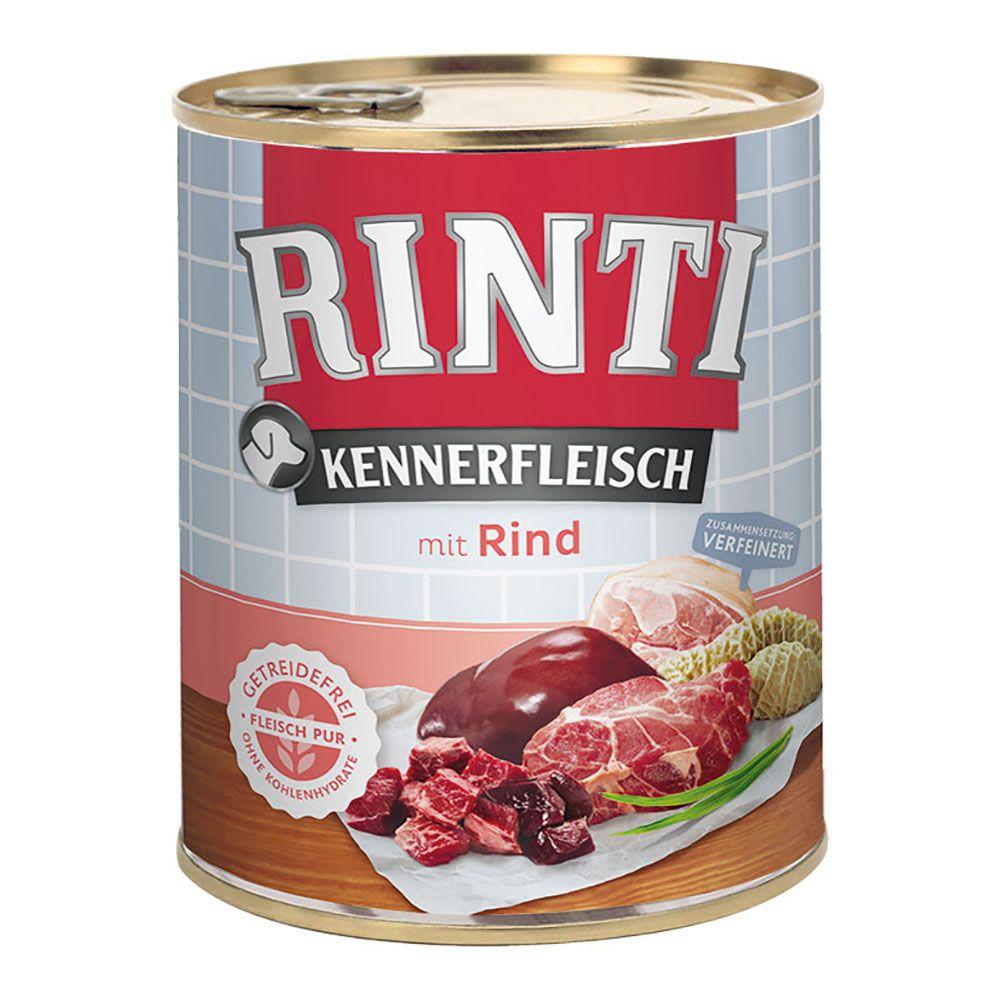24 x 800g Kennerfleisch Lamm RINTI Hundefutter nass 4000158826565