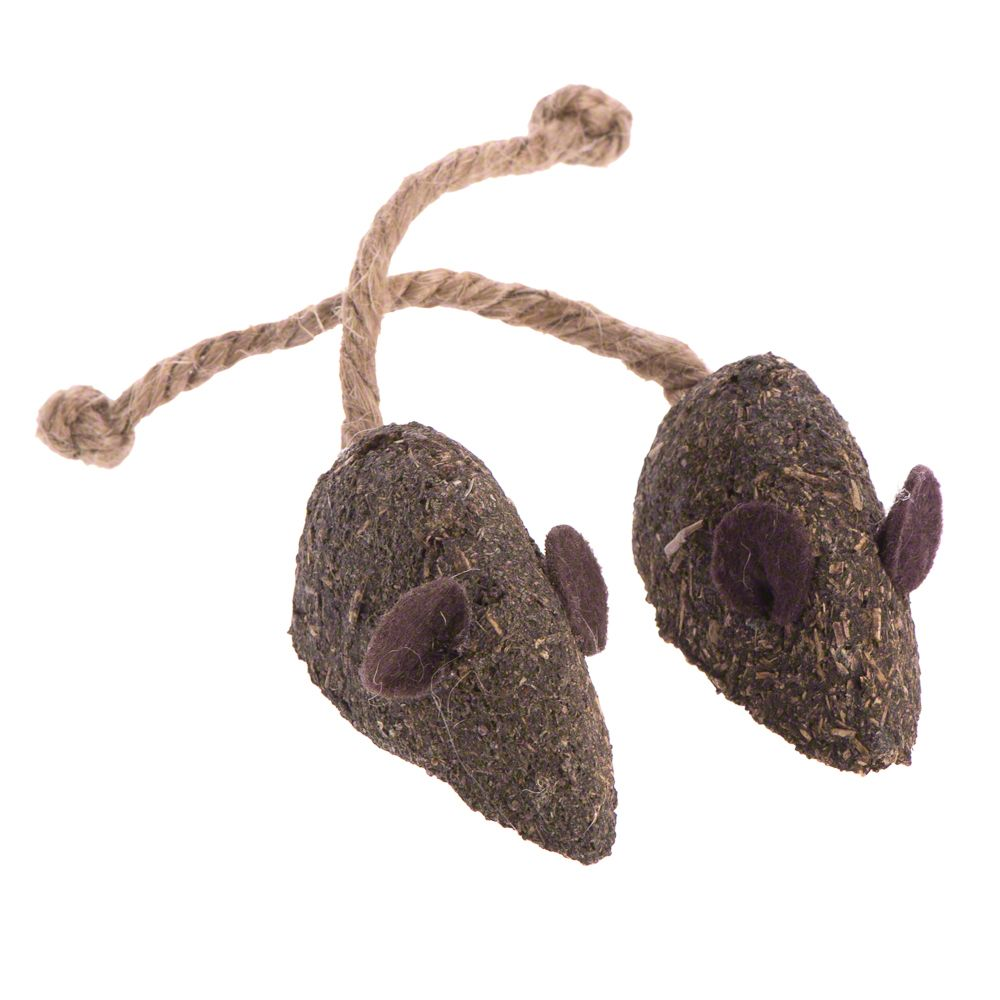 Natural Catnip Mice - 2 Mice