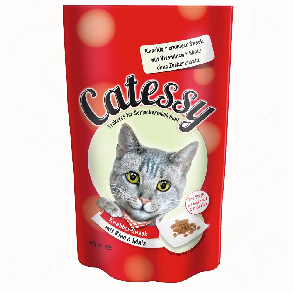 Catessy Crunchy Snacks Mixed Trial Pack 3 x 65g - Mixed Trial Pack
