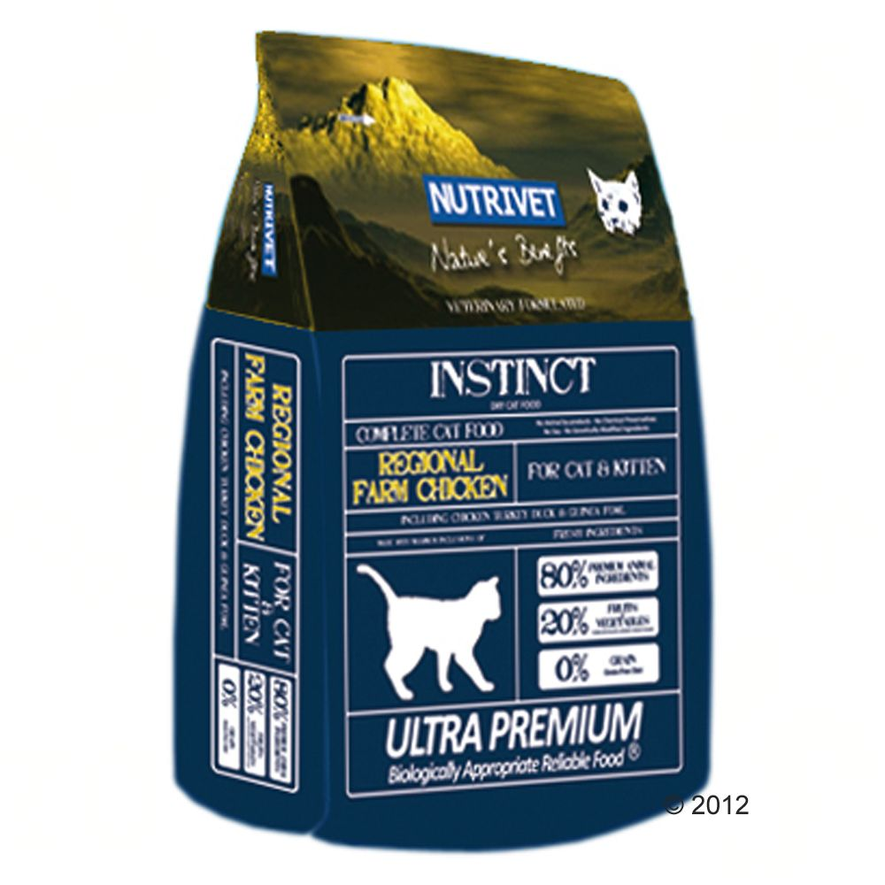 Foto Nutrivet Cat and Kitten Regional Farm Chicken - 2 x 6 kg - prezzo top!