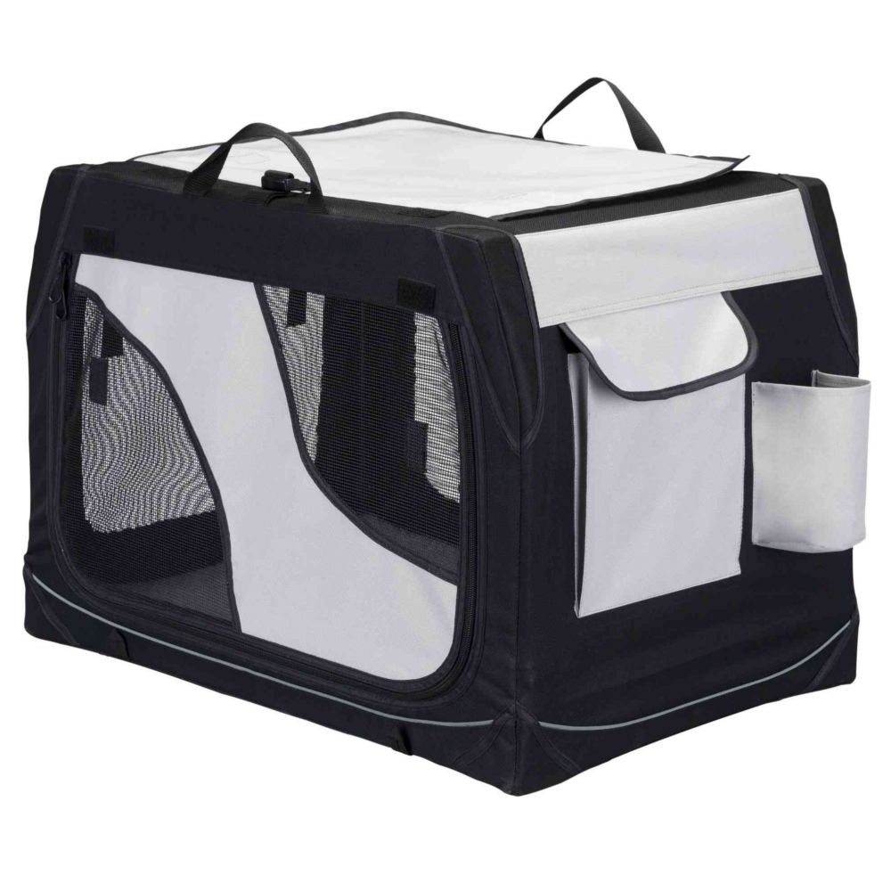 Trixie Vario Transport Box For Dogs - Size S-M: 76x48x51cm (LxWxH)