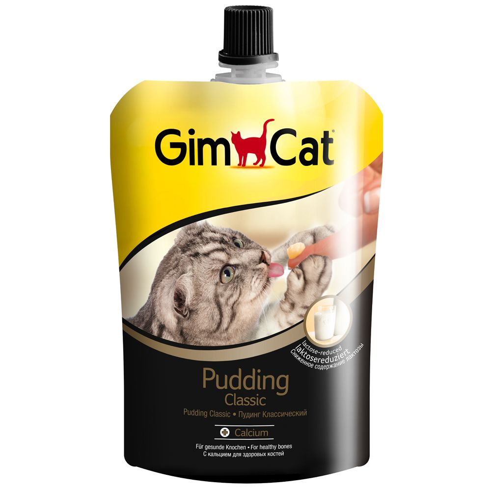 Image of GimCat Pudding per gatti - Set %: 6 x 150 g