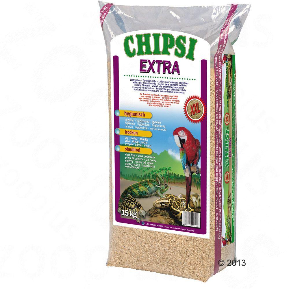 Chipsi Extra bøgeflis - 15 kg, xxl spåner