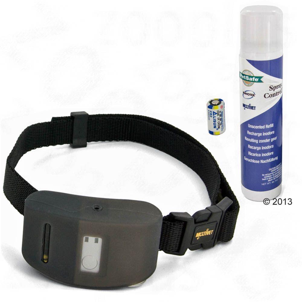 Foto Collare antiabbaio PetSafe Spray Deluxe - Set completo: collare, 2 ricariche inodore Collari educativi spray