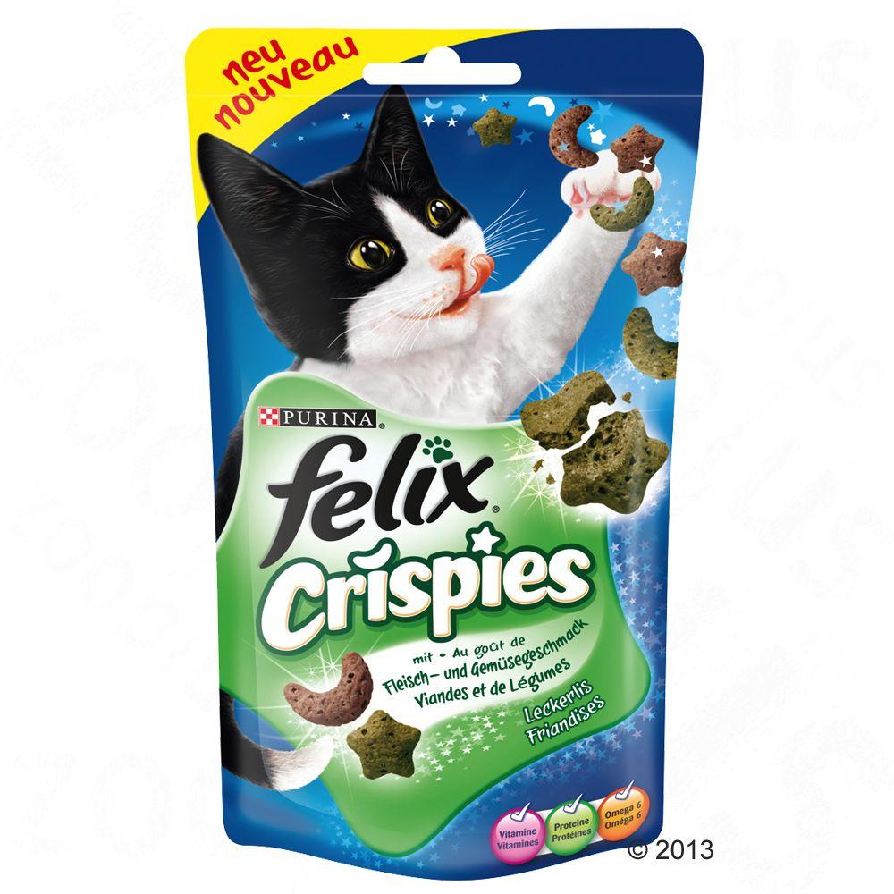 Felix Crispies, mięso z warzywami - 45 g