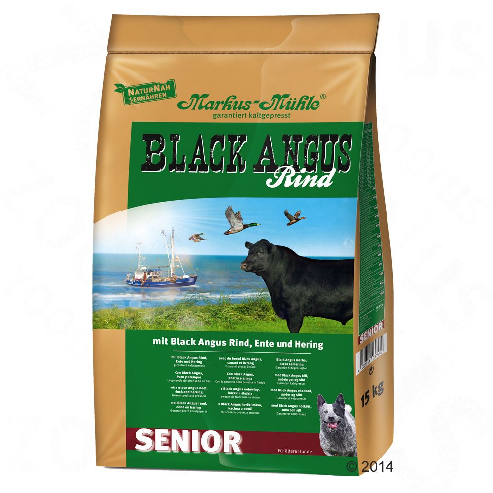 Senior Black Angus Markus Mühle Dry Dog Food