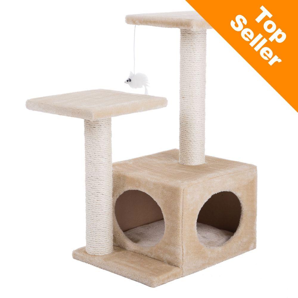 Chat Arbre à chat griffoir Arbre à chat petit Entre 60 cm et 80 cm de haut