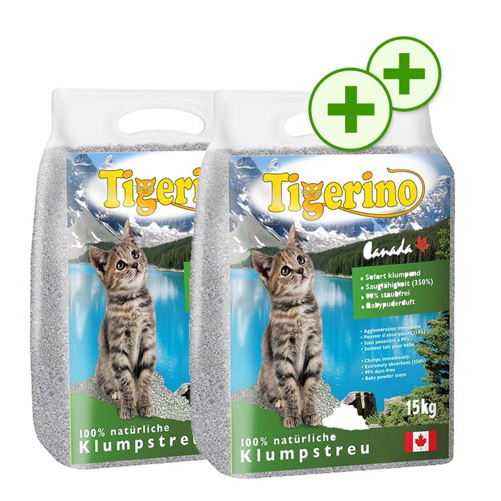 Foto Doppi Punti Fedeltà: Tigerino Canada 2 x 15 kg - al borotalco