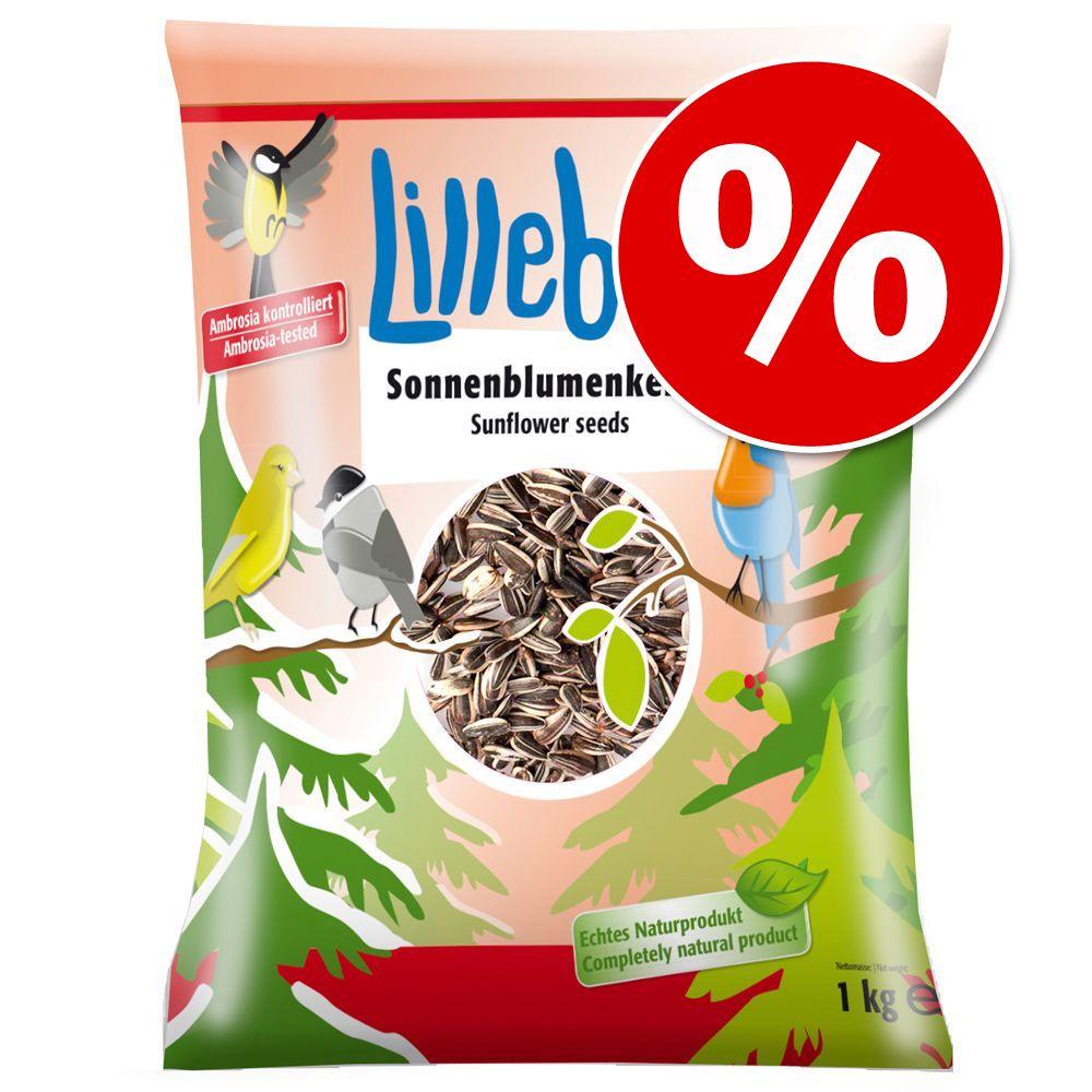 3 x 1 kg Lillebro Sonnenblumenkerne zum Sonderpreis! - 3 x 1 kg