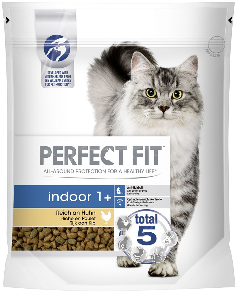 Indoor 1+ Chicken Perfect Fit Dry Cat Food