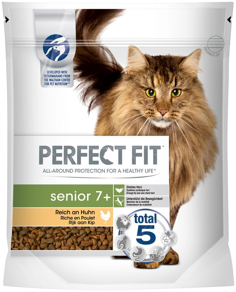 Chicken Senior 7+ Perfect Fit Dry Cat Food