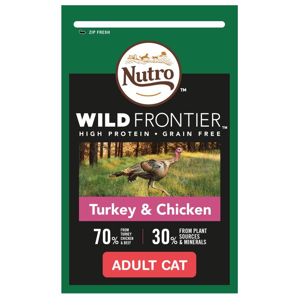 Nutro Wild Frontier Turkey & Chicken Adult Dry Cat Food