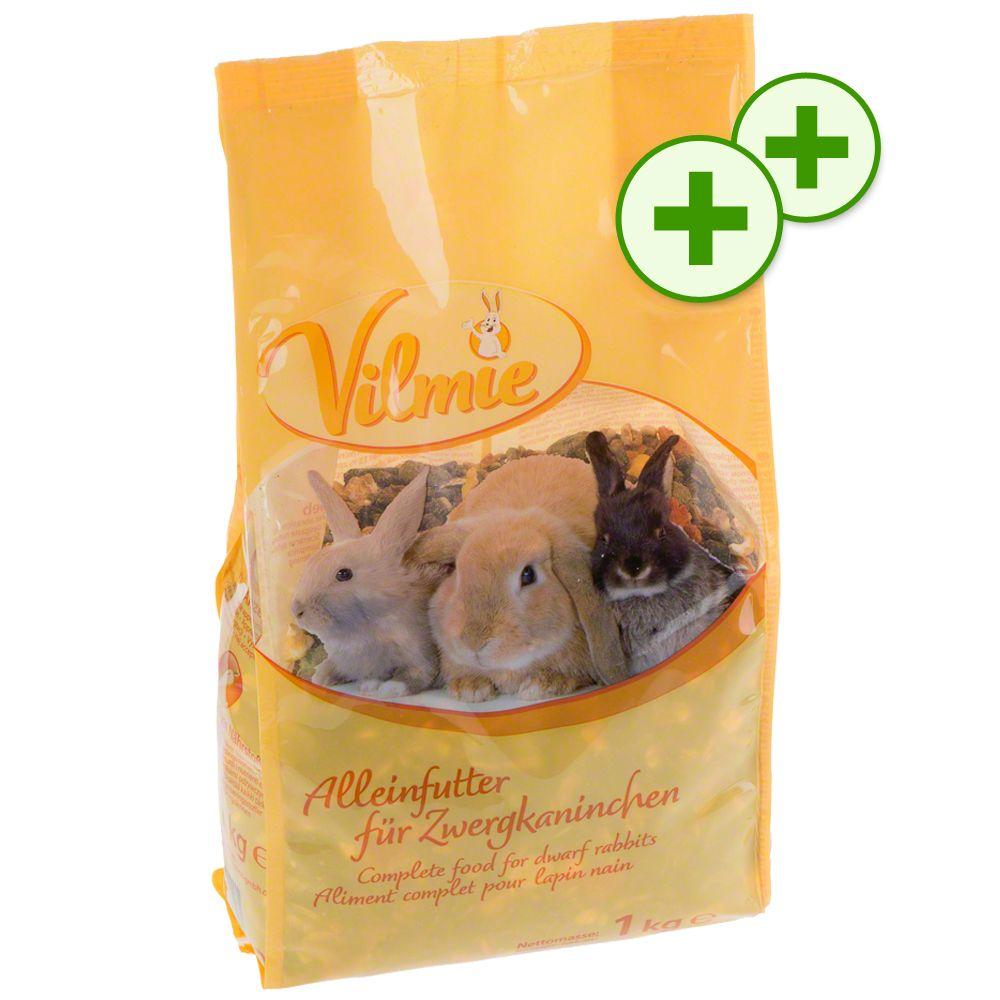 Doppi Punti Fedeltà: Cibo Vilmie per piccoli animali - Vilmie per conigli nani 5 x 1 kg