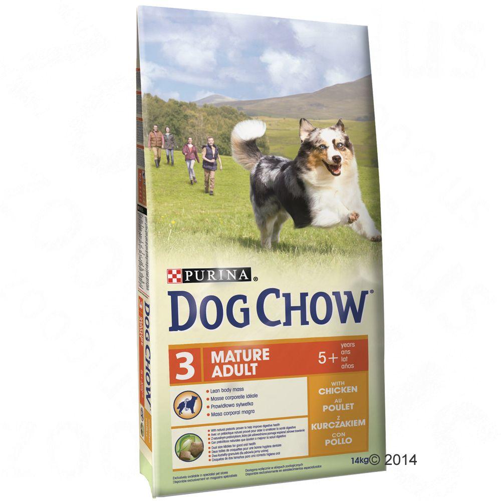 Purina Dog Chow Mature Adult, kurczak - 2 x 14 kg