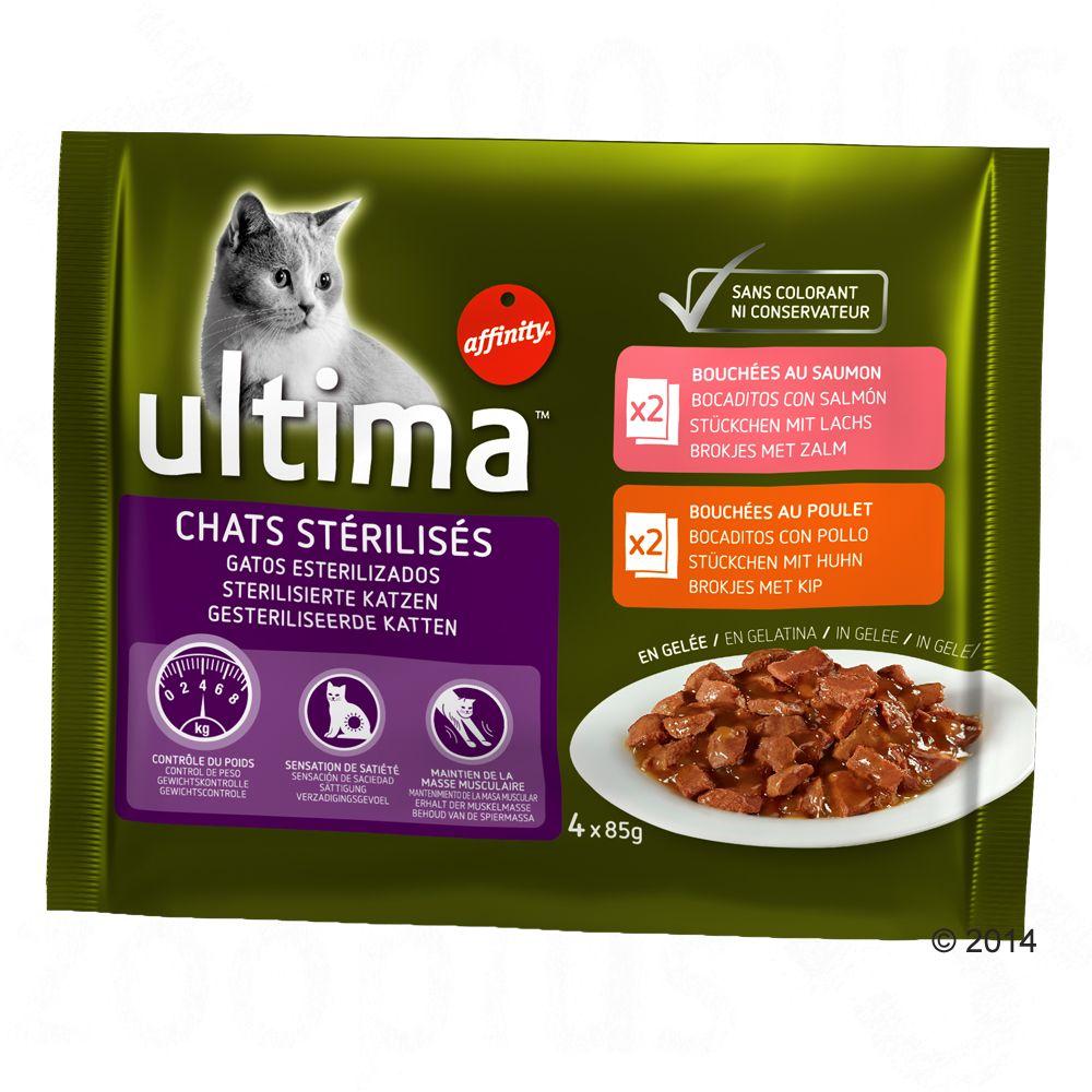 Ultima Cat Sterilized – Ekonomipack: 24 x 85 g